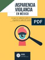Transparencia y Vigilancia 2019