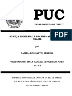 Justiça Ambiental e Racismo Ambiental No Brasil