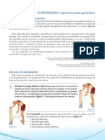 CINESITERAPIA (ejercicios para pacientes)