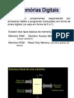CD15 - Memórias