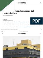 Las Casonas Más Destacadas Del Centro de Lima