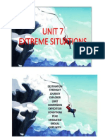 Extreme Situations