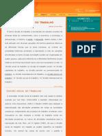 Divisão Social do Trabalho - glossário fiocruz