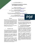 Modelo Matematico Gobierno de Buques