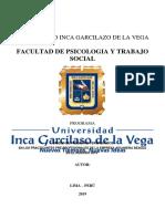 Programa Socioeducativos Universidad Garcilazo