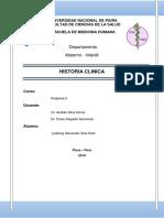 Historia Clinica Pediatria Dr Delgado