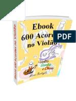 eBook 600 Acordes No Violão