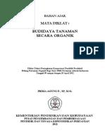 01-Bahan Ajar Budidaya Tanaman Secara Organik 09-20 April 2012