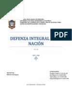 Defenza Integral de La Nación (d. i. n)