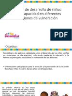Proceso de Desarrollo en Niños DISCAPACIDAD
