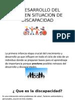 El Desarrollo Del Niño en Situacion de Discapacidad