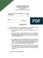 Compliance Draft