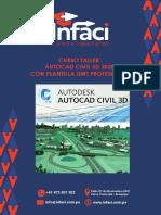 Temario AutoCAD Civil 3D 2020