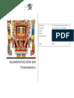 Alimetación en Tiwanaku
