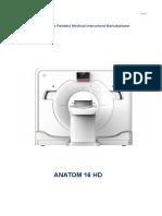 ANATOM 16 HD Specifications