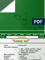 RPP Konsep Mol