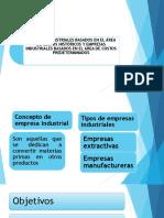Presentación Empresas Industriales