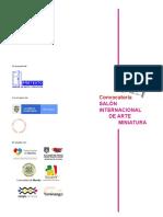 Convocatoria Salón Internacional de Arte Miniatura Hasta El 31 de Octubre de 2019 (2)