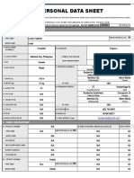 PDS-SHEET