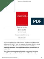 Resumen - Lovemarks - Kevin Roberts