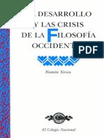 Xirau, Ramón - El Desarrollo y Las Crisis de La Filosofía Occidental