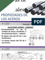 Clase #1 Propiedades Mecánicas de Los Aceros.ppsm