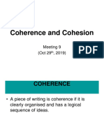 2-Coherence and Cohesion