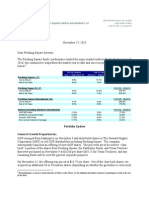 Pershing Q3 2010 Letter