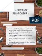 Personal Relationship PPT.pptx