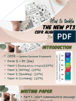 Latest PT3 CEFR Alligned Slides