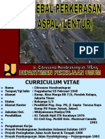 DESAIN TEBAL PERKERASAN JALAN  ASPAL (LENTUR).ppt