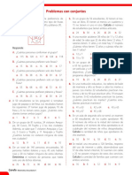 Unidad 1 . Ficha de Refuerzo-Problemas Con Conjuntos