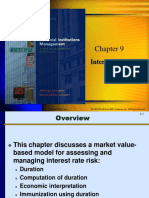 Chap 9 Interest Rate Risk II