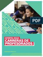 Folleto Profesorado 2018