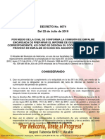 8290 Decreto Comision de Empalme