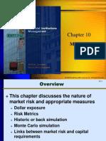 Chap 10 Market Risk
