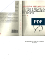 Kupdf.net Teoriacutea y Teacutecnica Del Psicoanaacutelisis de Nintildeos Arminda Aberasturypdf