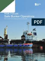 UK Club Risk Focus Safe Bunker Operations