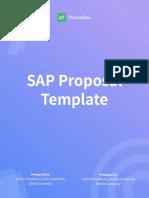 SAP Proposal Template