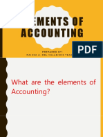 Elements of Accounting lecture