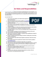 Award Leader Roles and Responsibilities