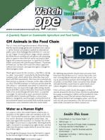 AgWatch Europe — Fall 2010 Newsletter