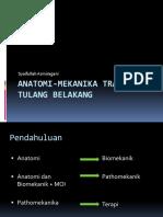 6a. Anatomi Dan Biomekanik Trauma Tulang Belakang