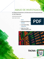 Resumen de Trabajo de Investigacion - SISTEMA FINANCIERO