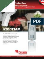 Datasheet XD10TTAM