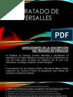 Pres. Tratado de Versalles
