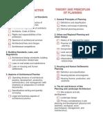 Checklist Proprac Planning