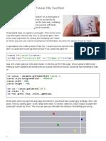 50 Yard Dash game in Javascript and HTML