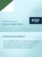 Cloud Computing Presentation v2