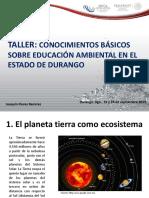23. El Planeta Tierra Como Ecosistema 2013